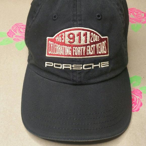 COLLECTIBLE - PORSCHE 911 2003 ANNIVERSARY HAT